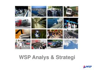 WSP Analys & Strategi