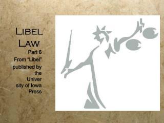 Libel Law