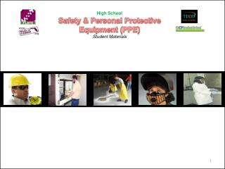 High School Safety & Personal Protective Equipment (PPE) Student Materials