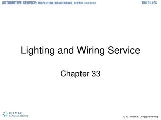 Lighting and Wiring Service
