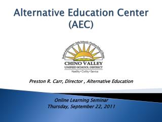 Alternative Education Center (AEC)