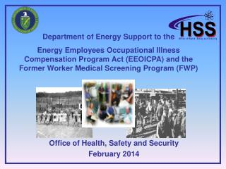 Department of Energy  Support to the