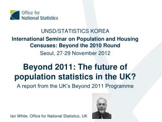 UNSD/STATISTICS KOREA
