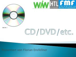 CD/DVD/etc.