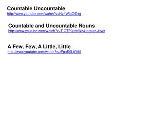 Countable Uncountable youtube/watch?v=NyhWiqOlDxg