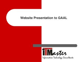 Website Presentation to GAAL