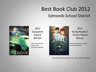 Best Book Club 2012