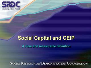 Social Capital and CEIP