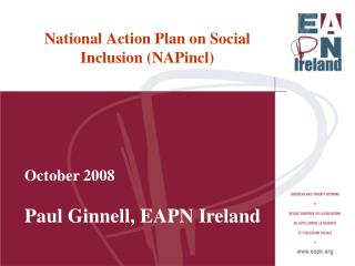 National Action Plan on Social  Inclusion (NAPincl)