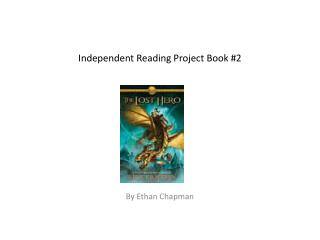 Independent Reading Project Book #2