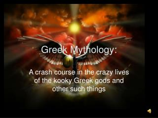 Greek Mythology:
