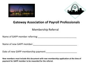 Gateway Association of Payroll Professionals