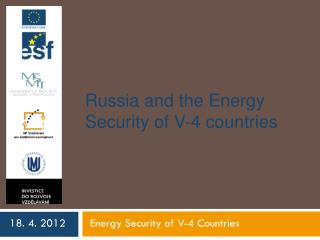 Russia and the Energy Security of V-4 countries