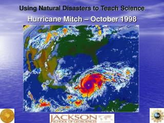 Hurricane Mitch – October 1998
