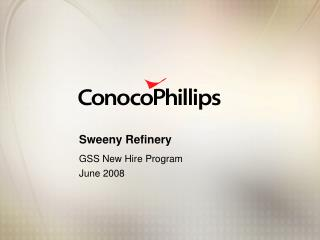 Sweeny Refinery