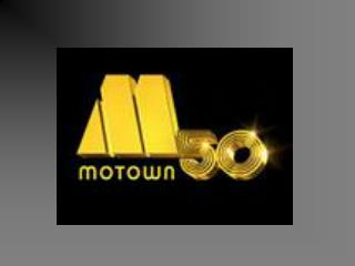 BERRY GORDY AND MOTOWN RECORDS