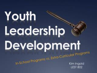 Youth Leadership Development