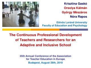 35th Annual Conference of the Association for Teacher Education in Europe