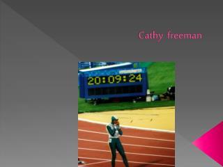 Cathy freeman