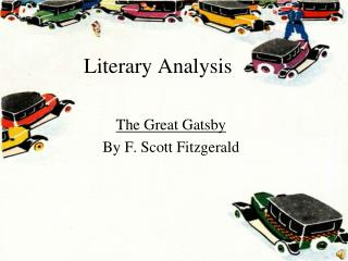 a literary analysis of the great gatsby by f scott fitzgerald The great gatsby by f scott fitzgerald book discussion questions to the definition of social class in the great gatsby fitzgerald and the literature.