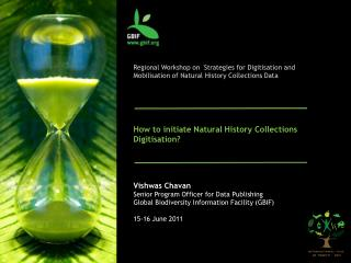 How to initiate Natural History Collections Digitisation?