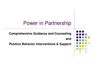 Power in Partnership
