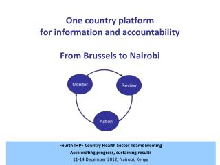 One country platform  for information and accountability From Brussels to Nairobi