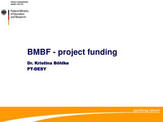 BMBF - project funding