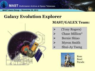 Galaxy Evolution Explorer