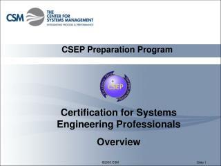 CSEP Preparation Program