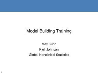 Model Building Training
