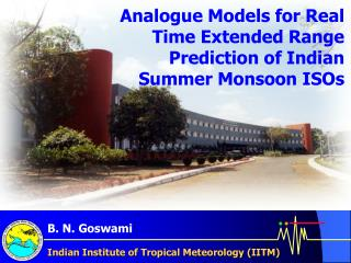 Indian Institute of Tropical Meteorology (IITM)