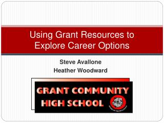 Using Grant Resources to  Explore Career Options