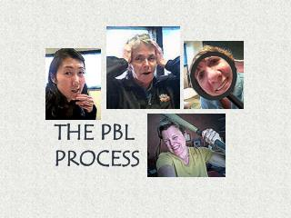THE PBL PROCESS