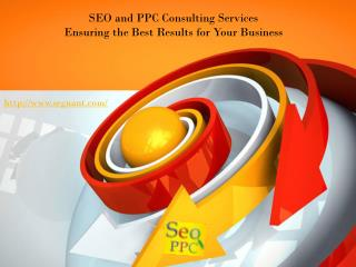 SEO and PPC Consulting Services Ensuring the Best Results fo