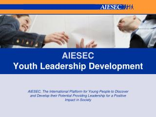 AIESEC  Youth Leadership Development