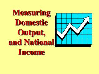 Measuring Domestic Output, and National Income