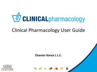 Clinical Pharmacology User Guide