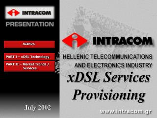 xDSL Services Provisioning