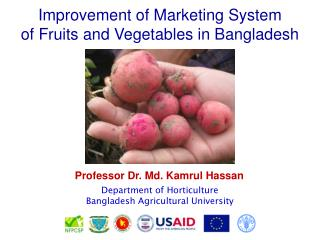 Improvement of Marketing System of Fruits and Vegetables in Bangladesh