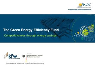 The Green Energy Efficiency Fund