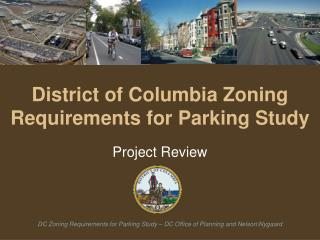 District of Columbia Zoning Requirements for Parking Study