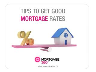 Tips to Get the Best Mortgage Deals