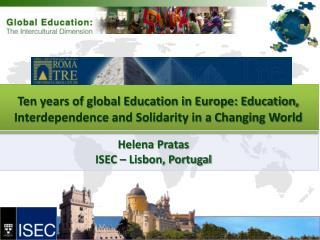 Helena Pratas ISEC – Lisbon, Portugal