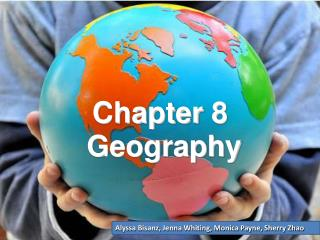 Chapter 8  Geography