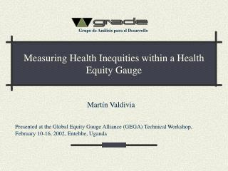 Measuring Health Inequities within a Health Equity Gauge
