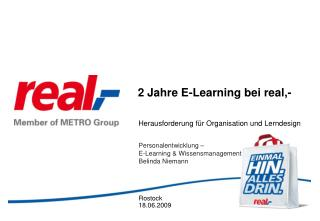 2 Jahre E-Learning bei real,-