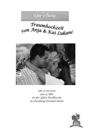 am 11.06.2005 um 15 Uhr in der alten Dorfkirche in Duisburg-Friemersheim