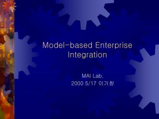 Model-based Enterprise Integration