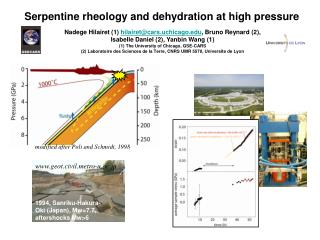 Serpentine rheology and dehydration at high pressure